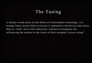 Multimedia Art - The Tuning