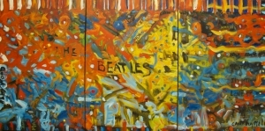 Contemporary Artwork by Deryk Houston - The Beatles