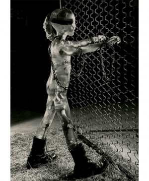 Contemporary Artwork by Claude Cehes - Child Soldier