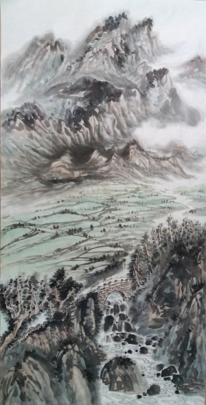 Contemporary Artwork by Liu Yuzhu - Landscape untitled