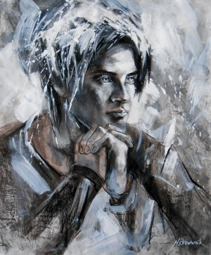 Contemporary Paintings - The Young Man
