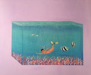Contemporary Artwork by Li Tongfa - Journey to the Deep Sea in March No.2