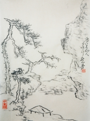 Contemporary Artwork by Hefeng Hall Gallery - Chinese Landscape