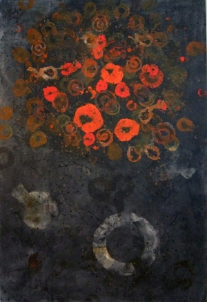 Contemporary Artwork by E-Moderne Gallerie - Poppies