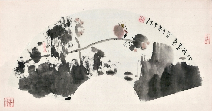 Wang Dongrui's Contemporary Chinese Painting - Lotus