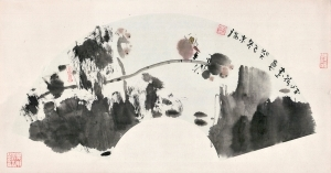 Lotus - Contemporary Chinese Painting Art