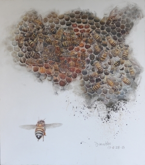 Contemporary Oil Painting - Honey