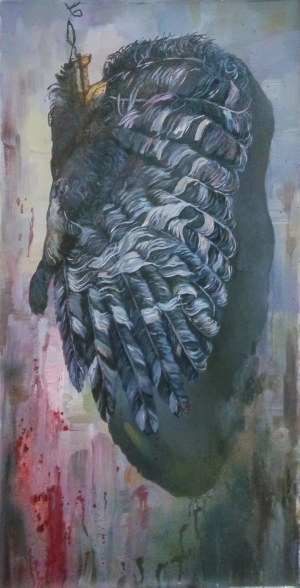 Contemporary Oil Painting - The Ruined Wing