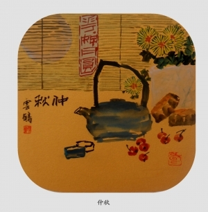 Contemporary Chinese Painting - Mid-Autumn Festival