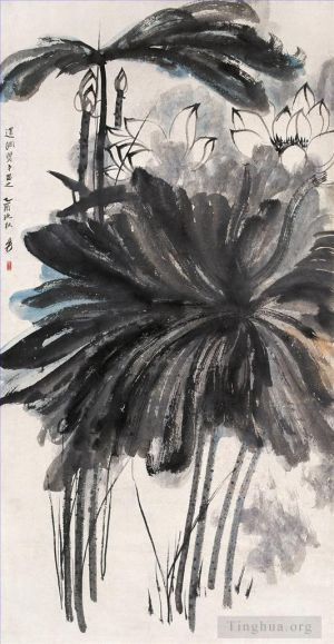 Lotus 3 - Contemporary Chinese Painting Art