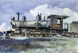 D r g locomotive - Contemporary Various Paintings Art