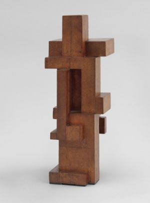 Contemporary Artwork by Georges Vantongerloo - Construction of volume relations 1921