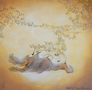 Contemporary Chinese Painting - Spread The Dance of Summer