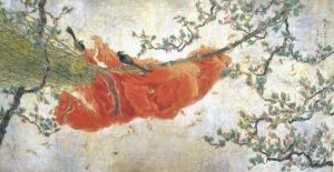 Contemporary Chinese Painting - Spread Warm Spring