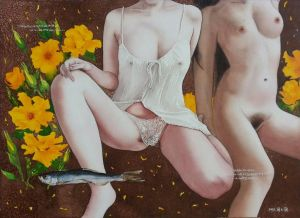 Diary of A Lover 5 - Contemporary Various Paintings Art