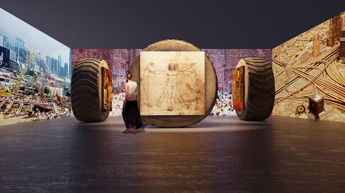Fu Wenjun's Contemporary Installation - Post Industrial Age