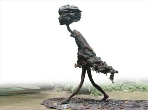 Seeking For Homeland - Contemporary Sculpture Art