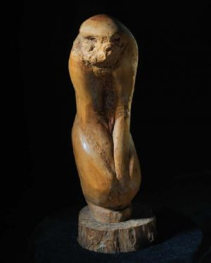 Contemporary Sculpture - Standing Monkey