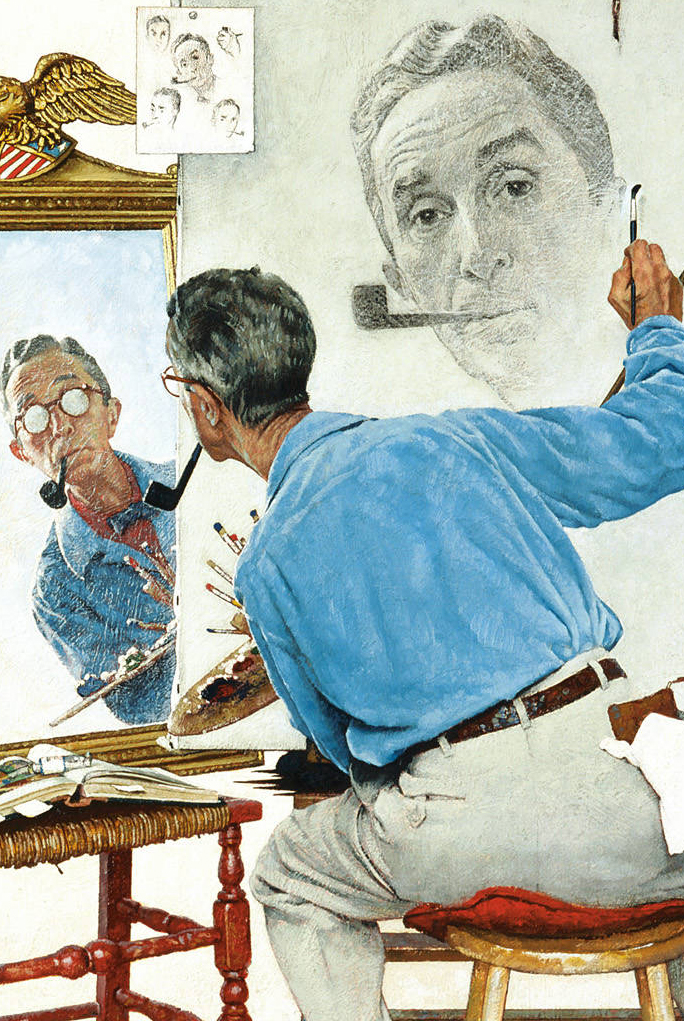 Contemporary Various Paintings Artist Norman Rockwell