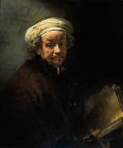 Oil Painting Old Master - Rembrandt