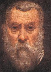 Oil Painting Old Master - Tintoretto