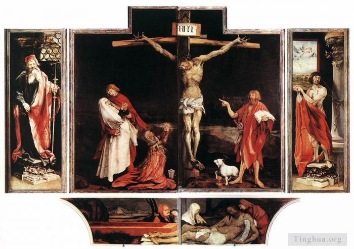 Matthias Grunewald Oil Painting - Isenheim Altarpiece first view