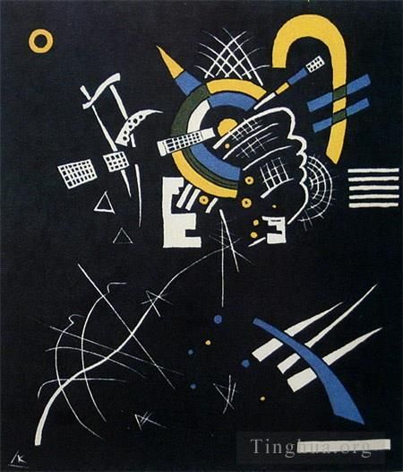 Wassily Kandinsky Various Paintings - Small Worlds VII